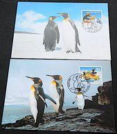 Schweiz Suisse 1999: PINGU (mit & Ohne Schnur) Zu 964-965+987-988 Mi 1673-74+1707-8 Yv 1601-2+1635-6 Auf 4 MK - Pingouins & Manchots
