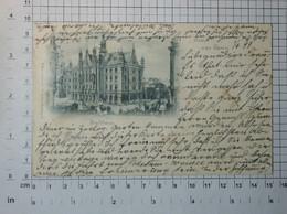 PRUSSIA - Province Of Posen, City Hall, 1899. - Vintage POSTCARD - (APAT2-88) - Cartes Postales