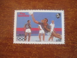 Gambia 1987 Olympics In Seoul  Handballl  MNH - Handball
