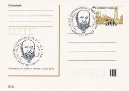 I0538 - Tschechoslowakei (1991) Bratislava 42: Generalversammlung Der Slowakischen Union-Philatelisten; Pavol Krizko - Célébrités