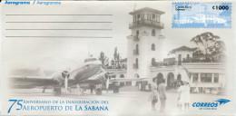 Lote CR2015-2, Costa Rica, 2015, Entero Postal, Postal Stationany, Aeropuerto De La Sabana, Airport, Aircraft - Costa Rica