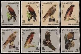 Umm Al-Kaiwain 1968 - Mi-Nr. 225-232 ** - MNH - Vögel / Birds - Umm Al-Qaiwain