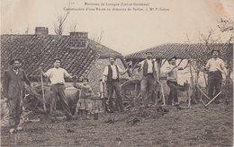 ENVIRON DE LAROQUE : Construction D'une Route Au Domaine De Serbat , à Mr P.Gajan . - Laroque Timbault