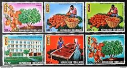 # Togo 1971**Mi.868-73  International Cocoa Day , MNH  [23;39] - Sonstige