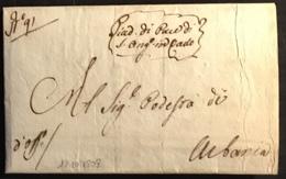 1808  S. ANGELO IN VADO PER URBANIA - Italy