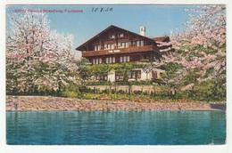 Faulensee, Pension Strandweg Old Postcard 1929 Unused B190110 - BE Berne