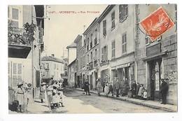 MORESTEL  (cpa 38)  Rue Principale  -  L 1 - Morestel
