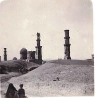 PHOTO STEREOSCOPIQUE - EGYPT - Mameluke Tombs - TOMBEAUX MAMELOUKS - RARE !! - Stereoscopic