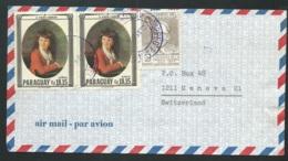 LSC Du Paraguay  Affranchie Pour La Suisse En  1967   - Ac 11101 - Paraguay
