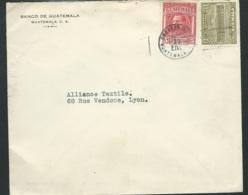 LSC Du Guatemala  Affranchie Pour La France En 1929   - Ac 11104 - Guatemala