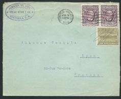 LSC Du Guatemala  Affranchie Pour La France En 1929   - Ac 11105 - Guatemala