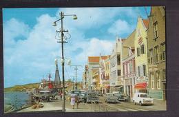 CPSM CURACAO - Curaçao - N. A. - Handelskade - TB PLAN Avenue Entre Port Et Ville - TB ANIMATION AUTOMOBILES - Curaçao