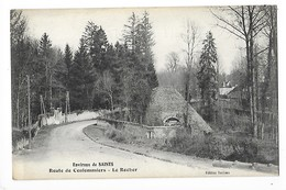 Environs De SAINTS  (cpa 77)  Route De Coulommiers, Le Rocher   -  L 1 - France