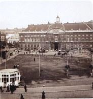 PHOTO STEREOSCOPIQUE - LIEGE - PLACE LAMBERT !! édit. Steglitz Berlin 1906 - Photos Stéréoscopiques