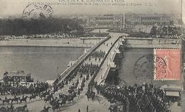 Visite De Alphonse XIII à ,Paris  Pont De La Concorde - Manifestations