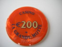 Casino Chip 200€ La Grande Motte France - Casino