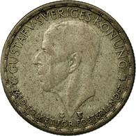 Monnaie, Suède, Gustaf V, Krona, 1949, TB+, Argent, KM:814 - Suède