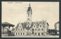 +++ CPA - DENDERMONDE - TERMONDE - Hôtel De Ville - Cachet Militaire Feldpost   // - Dendermonde