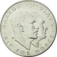 Monnaie, Norvège, Olav V, 25 Kroner, 1970, SUP+, Argent, KM:414 - Norvège