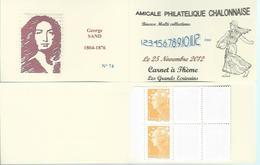 Carnet Privé A.P.C. Chalon Sur Saône - - Booklets