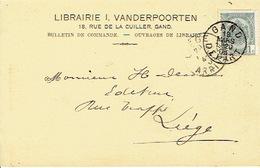 CP/PK Publicitaire GENT 1906 - I. VANDERPOORTEN - Boekhandel - Gent