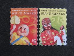HONG-KONG : TB Paire N° 1405 Et N° 1406, Neufs XX. - 1997-... Chinese Admnistrative Region