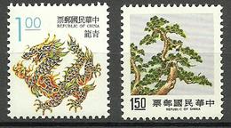 Formose / Taïwan - 2 TP Neufs ** - 1945-... República De China