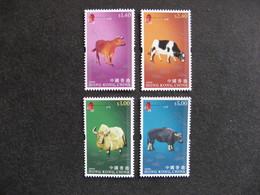 HONG-KONG : TB Série N° 1411 Au N° 1414, Neufs XX. - 1997-... Chinese Admnistrative Region