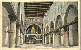 70914648 Jerusalem Yerushalayim Jerusalem El-Aksa Mosque  * Israel - Israel
