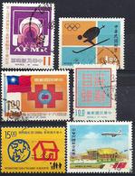Formose / Taïwan - 6 TP Oblitérés - 1945-... República De China