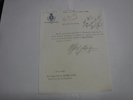 AUTOGRAFO  -- ITALIA  ---   POLITICA  ---  DEPUTATO  AVV.      COTTAFAVI  VITTORIO --CORREGGIO -R. EMILIA - Autografi