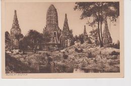 SIAM .RUIN 'S AT AYUTHIA - Thaïlande