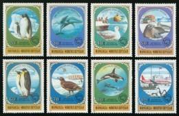 Serie Set Antartique Antartic Neuf ** MNH - Mongolie Mongolia 1980 - Timbres