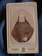 Photo CDV  St Humbert  Molière à Pezenas  Portrait Religieuse, Nonne  CA 1885 - L417 - Photos
