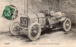 Sublime CPA Circuit De Dieppe Laxen Sur Automobile Weigel TOP - Dieppe