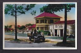 CPSM VIET NAM - Sud Viet Nam - SAIGON - Un Coin De Saïgon - TB GROS PLAN Militaire Et JEEP - Viêt-Nam