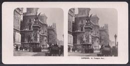 PHOTO STEREOSCOPIQUE - LONDON - TEMPLE BAR - VERY ANIMATED !! édit. Steglitz Berlin 1906 - Photos Stéréoscopiques
