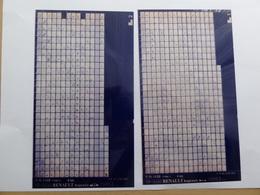 Microfiche  Renault Express  F40  1986>  Lot De 2  Pr1159 - Stereoskope - Stereobetrachter