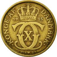 Monnaie, Danemark, Christian X, Krone, 1925, Copenhagen, TB+, Aluminum-Bronze - Denemarken