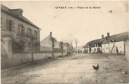 18 - 1918 - Civray - Place De La Mairie - France