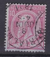N° 46 Défauts MORIALME - 1884-1891 Léopold II