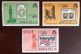 Anguilla 1980 London 80' 2nd Series MNH - Anguilla (1968-...)
