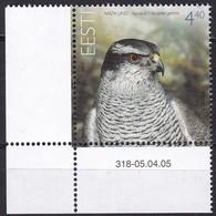 2005, EESTI, 513, Vogel Des Jahres: Habicht. MNH ** - Estonia