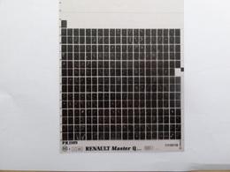 Microfiche Renault Master Q  1981>  Pr  1109 - Stereoscoopen