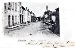 Le Breuil-sur-Couze - Canton De Brassac-les-Mines - La Grande Rue - Précurseur 1903 - Très Beau Plan Animé - France