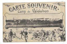 Camp Du VALDAHON  (cpa 25)  Carte Souvenir   -  L 1 - Andere Gemeenten