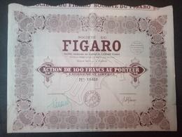 1 Sté Journal FIGARO Action + Coupons - Autres