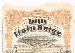 Banque Italo Belge Cp 59 Att - Banque & Assurance