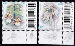 2005, EESTI, 520/21, Sommerblumen. MNH ** - Estonia