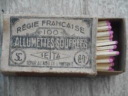 Boite D'allumettes Régie Française Seita - Boites D'allumettes
